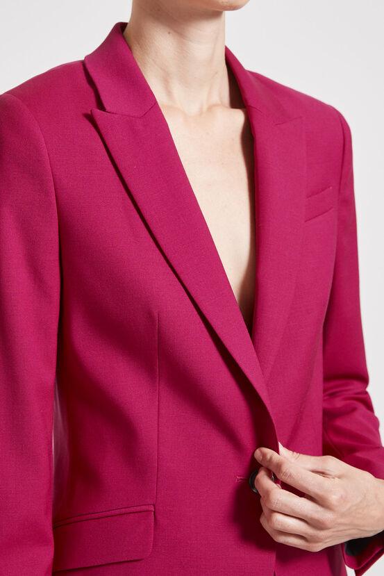 Fuschia Wool Suit SABA