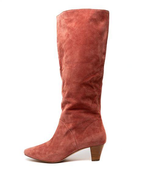 Plum Boots Heels Mollini